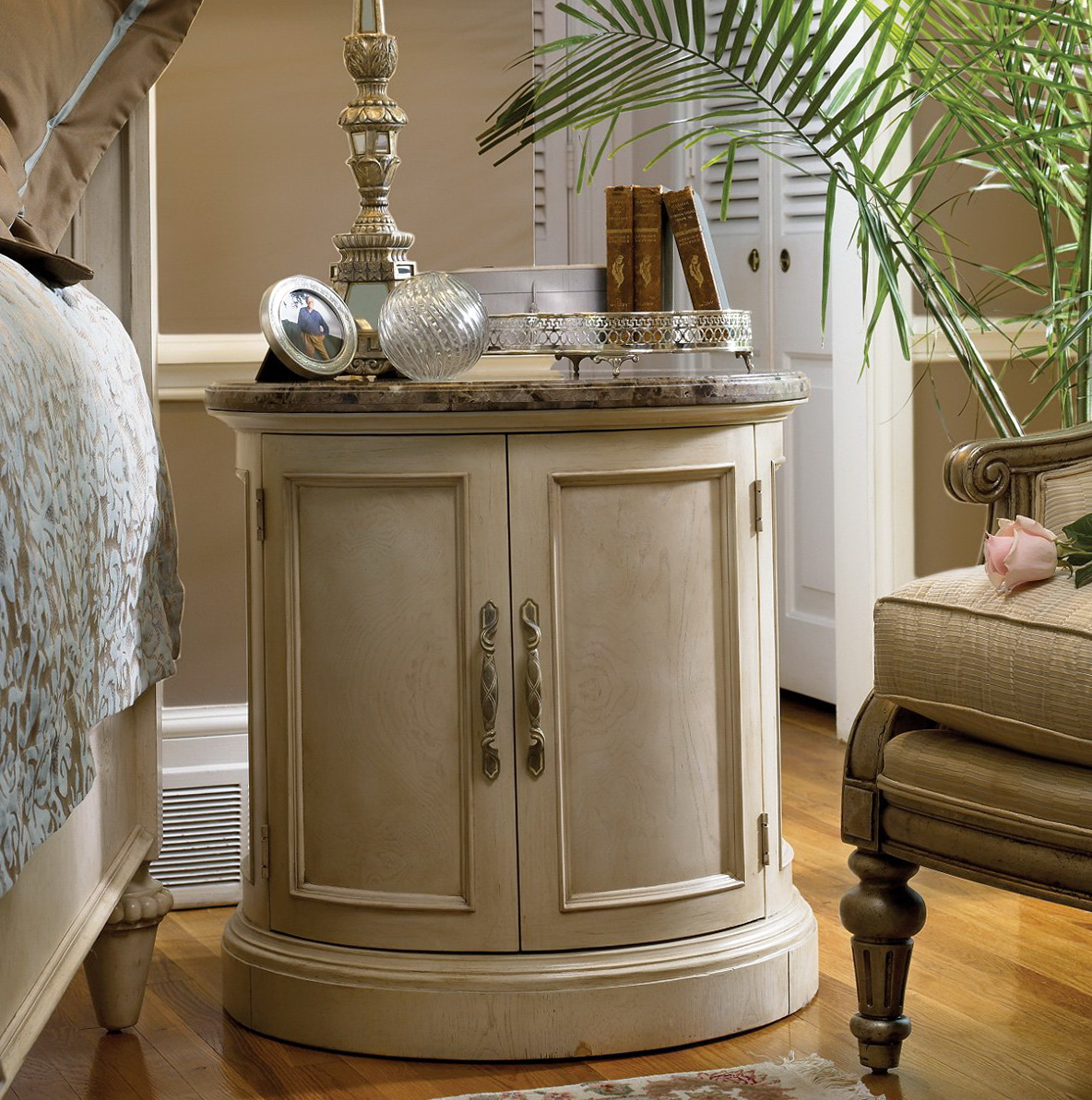 Marble Top Dressers And Nightstands