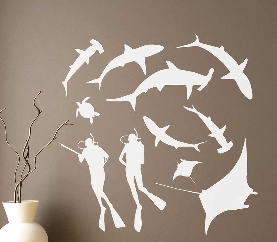 Ocean Wall Art Decals