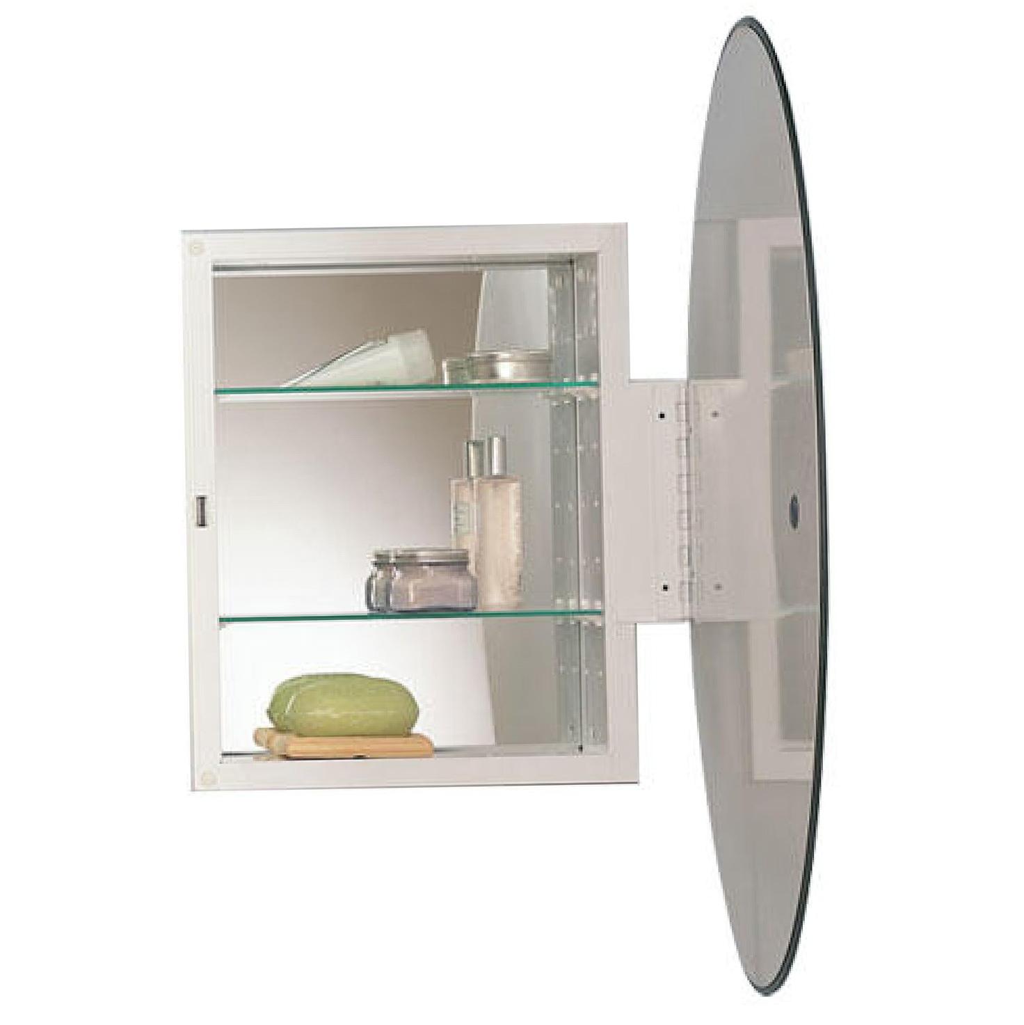 Oval Medicine Cabinet Recessed