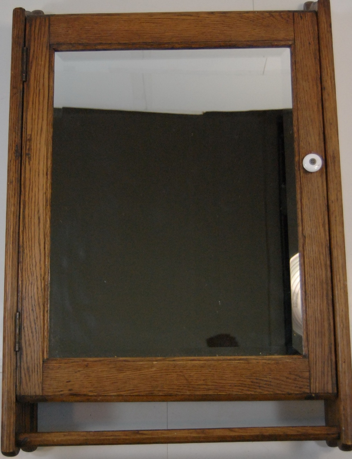 Primitive Medicine Cabinet With Mirror