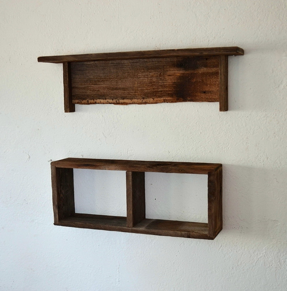 Reclaimed Wood Wall Shelves Sale