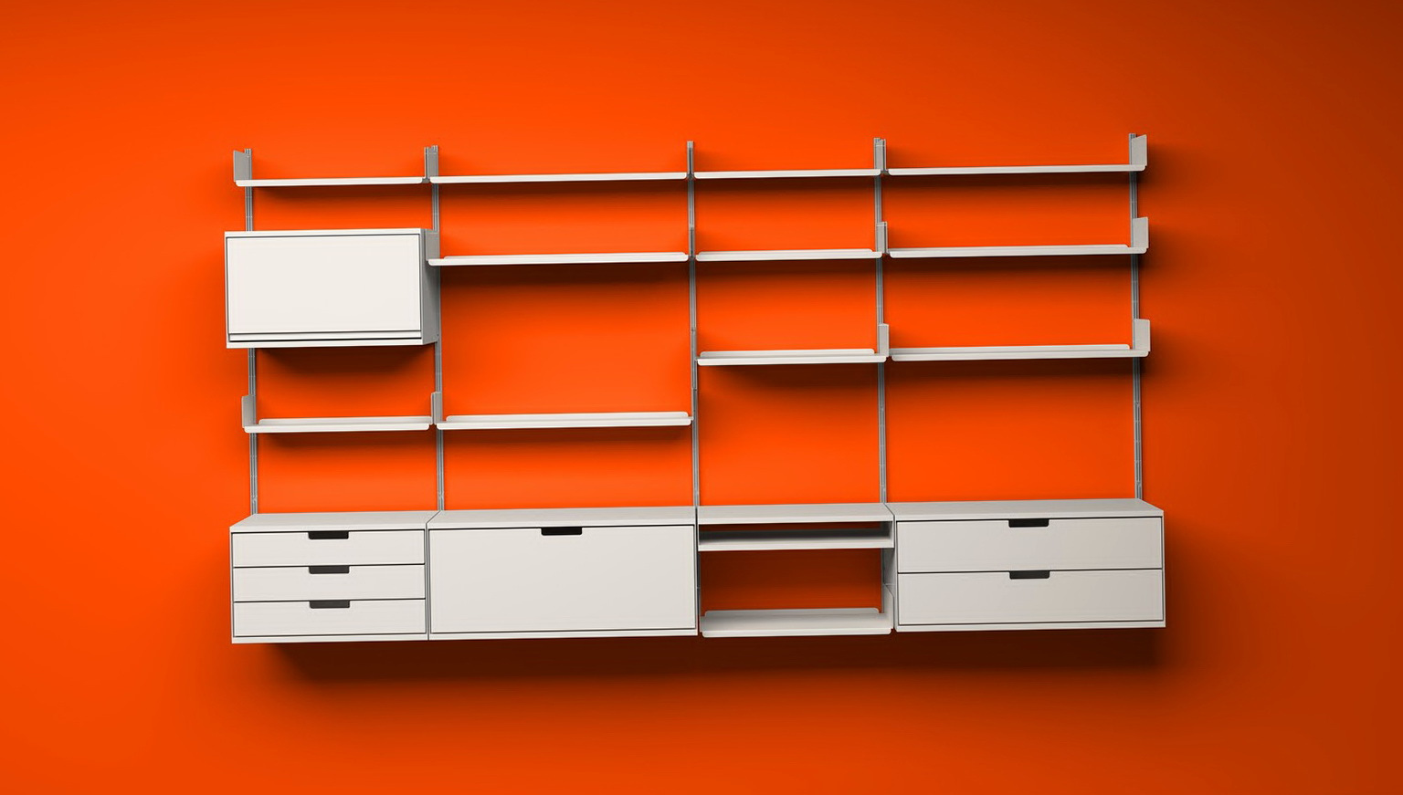 Retail Wall Shelving Systems