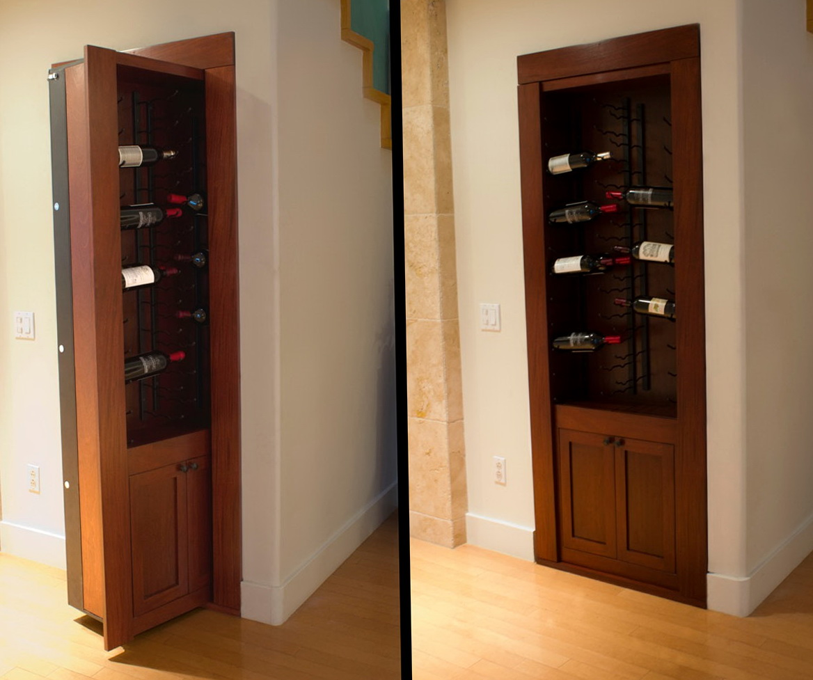 Secret Bookcase Door Hardware