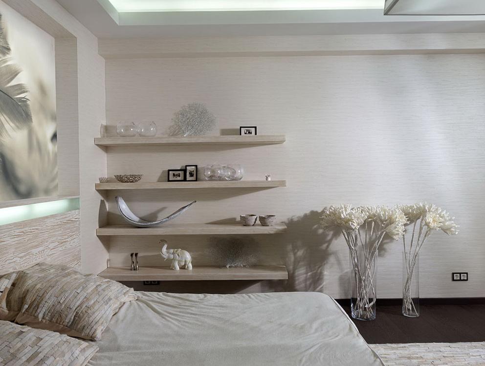 Shelves On Wall Bedroom