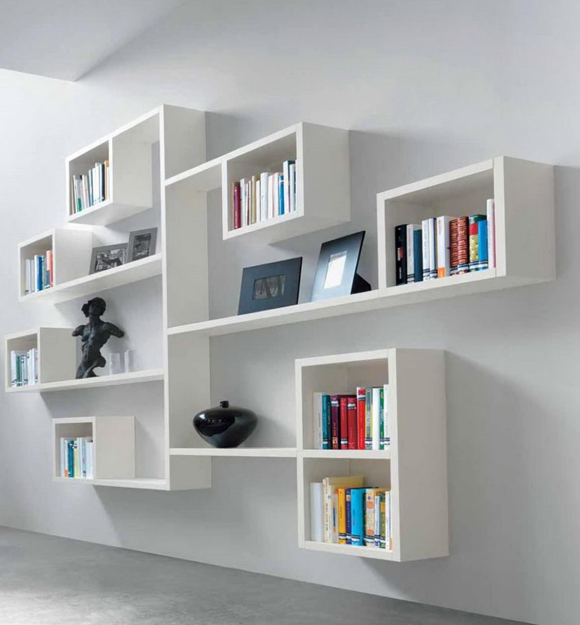 Shelves On Wall For Books