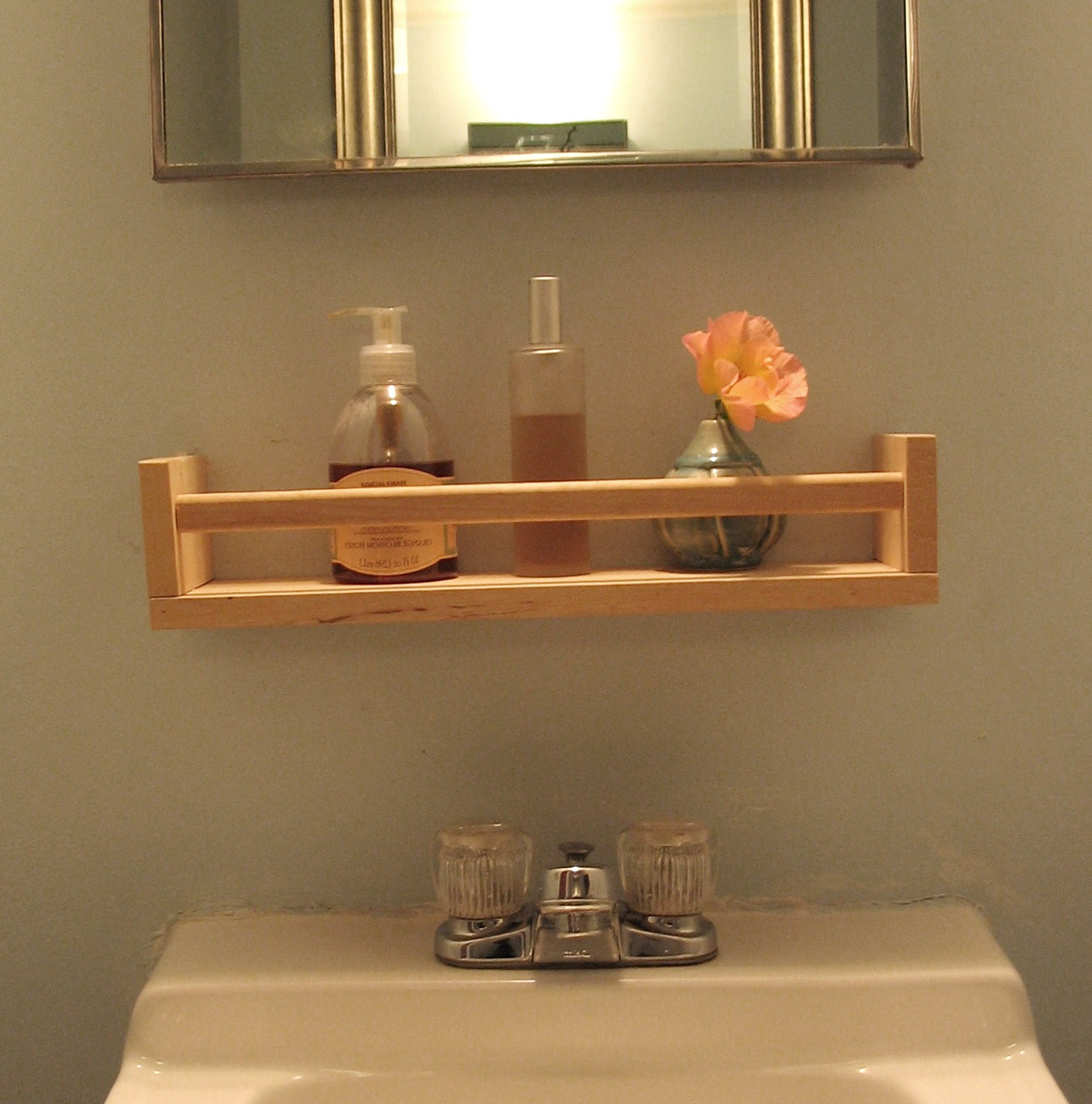 Small Bathroom Wall Shelves