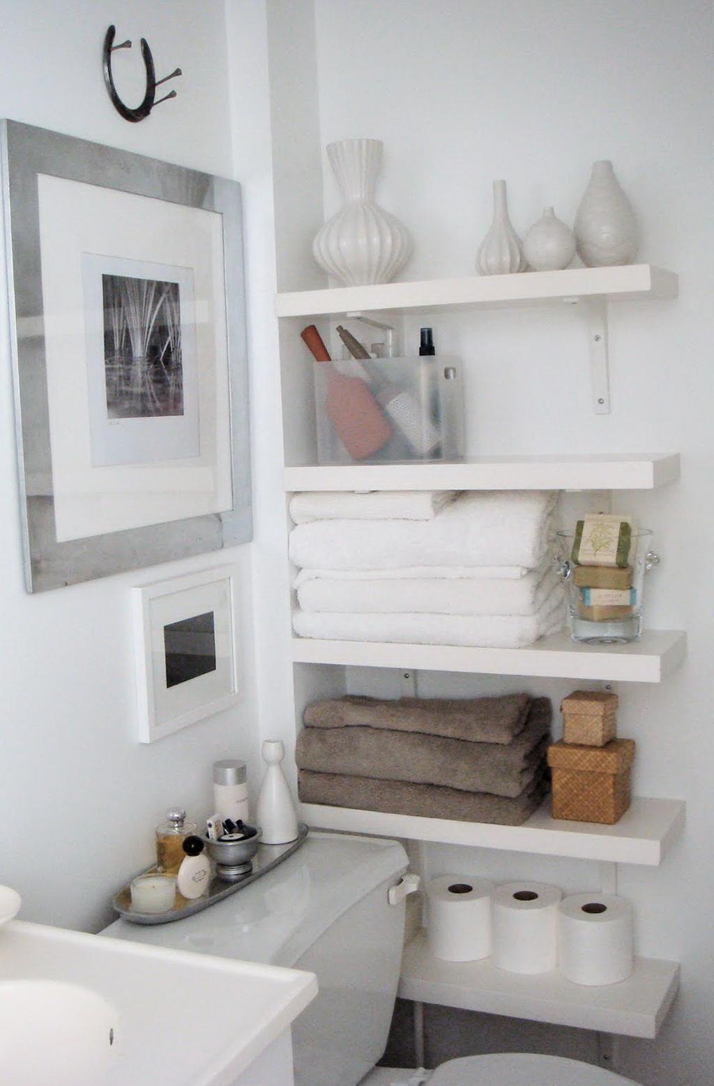 Small Bedroom Wall Shelves