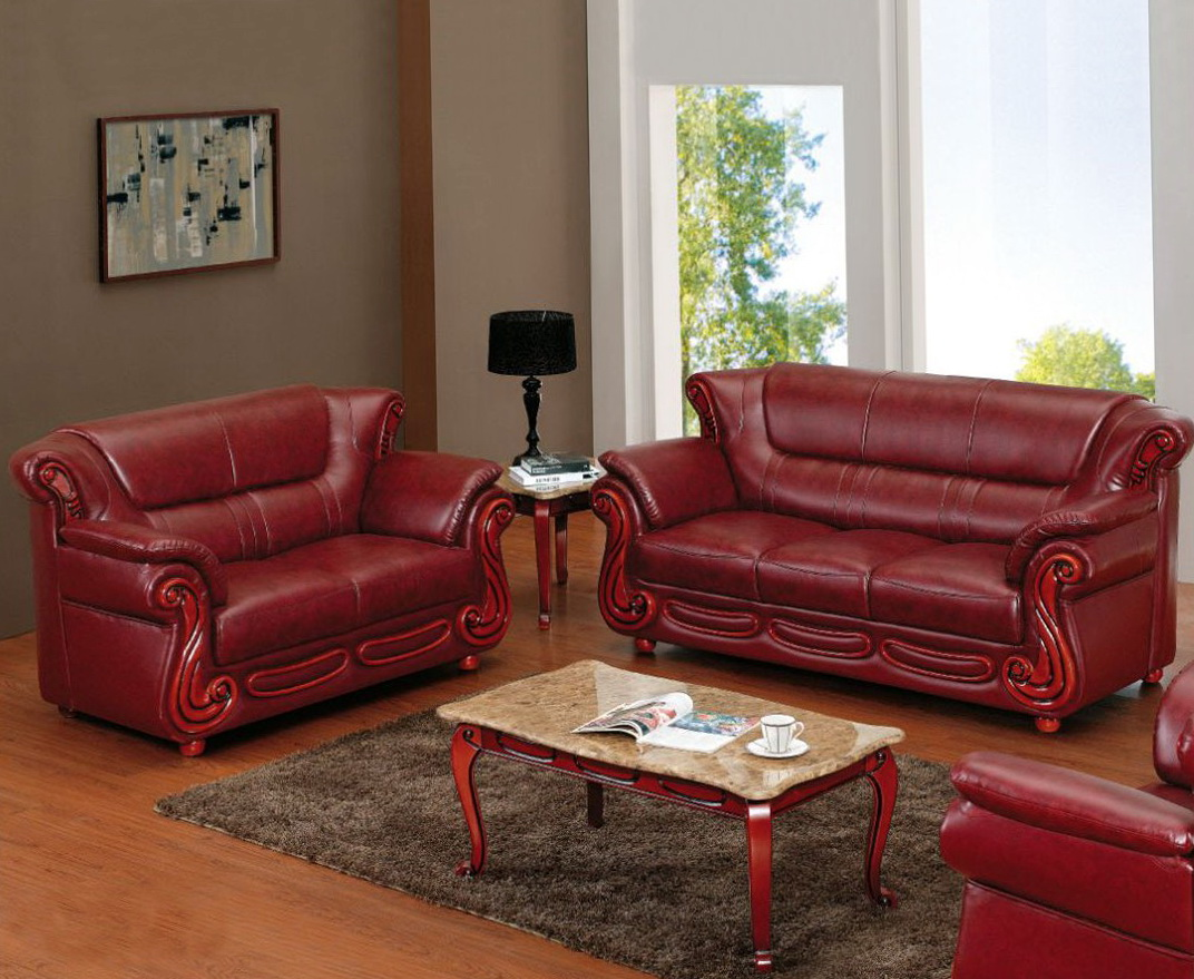 Sofa And Loveseat Across From Each Other