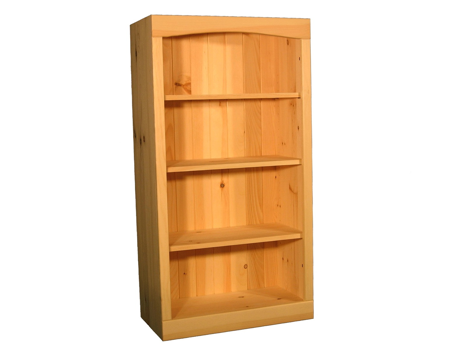 Solid Wood Bookcase Kit