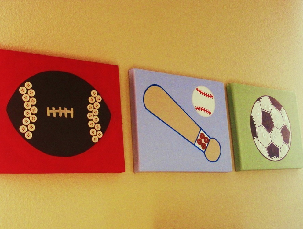 Sports Wall Art Canvas