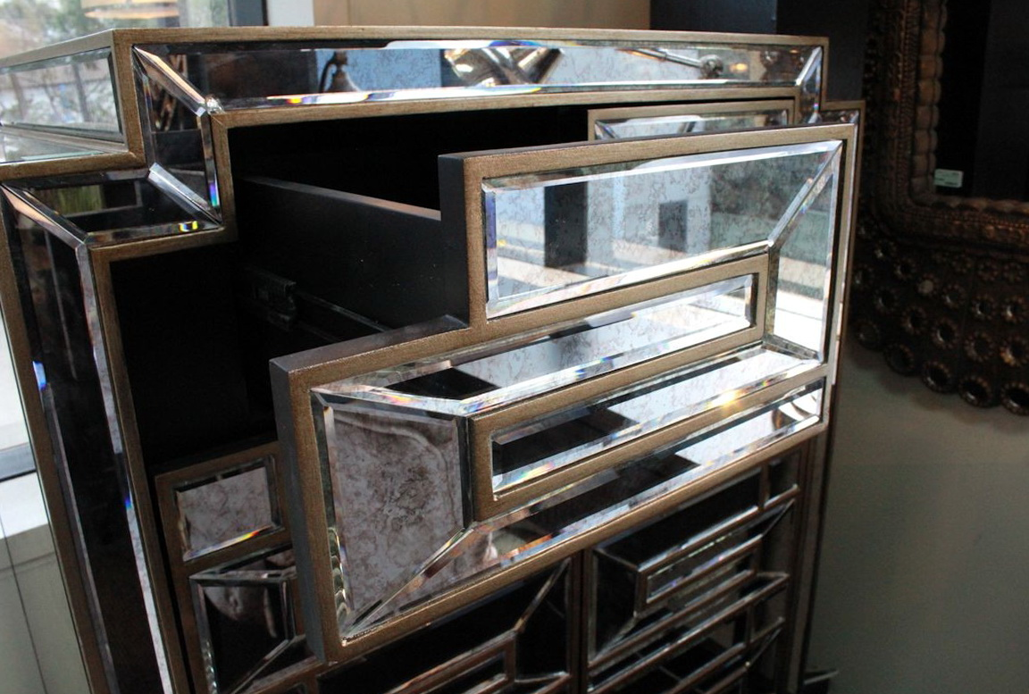 Tall Boy Dresser With Mirror
