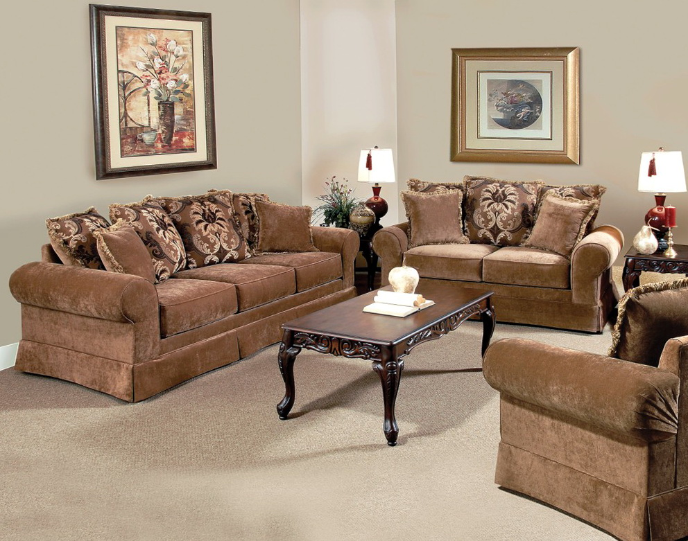 Traditional Sofas And Loveseats