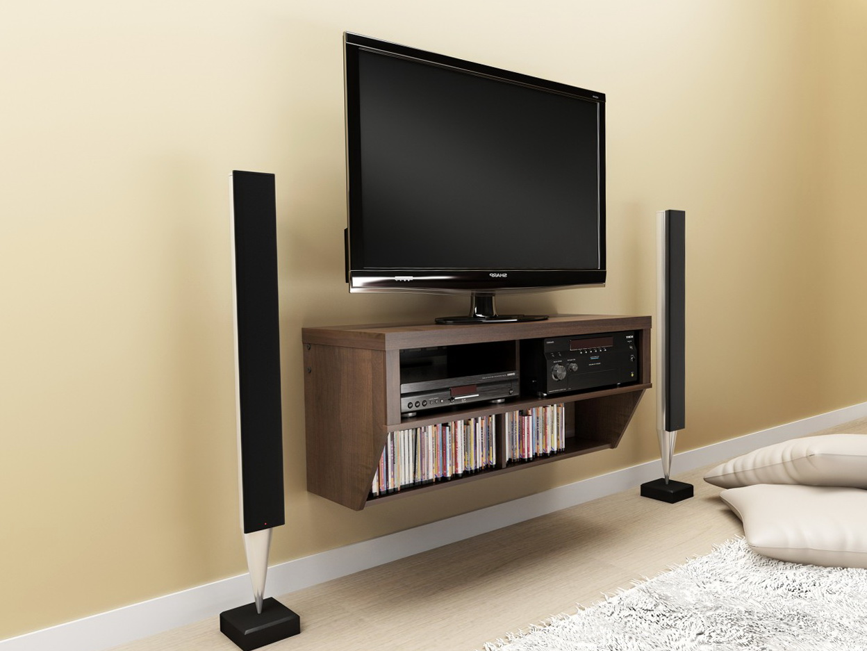 Tv Wall Mount Shelving Units