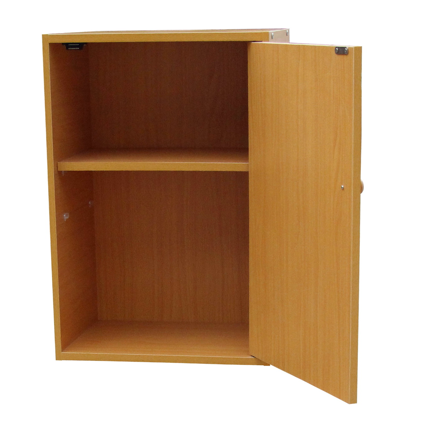Two Shelf Bookcase With Doors