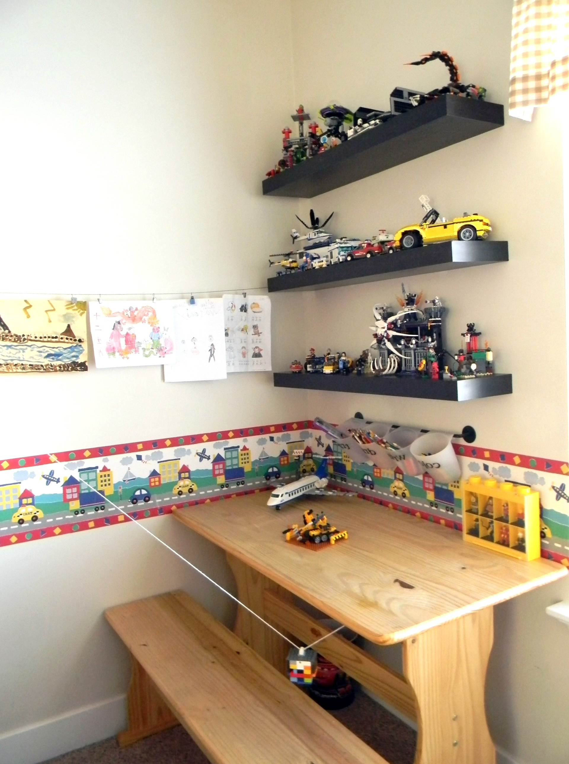Wall Bookshelves For Kids Room
