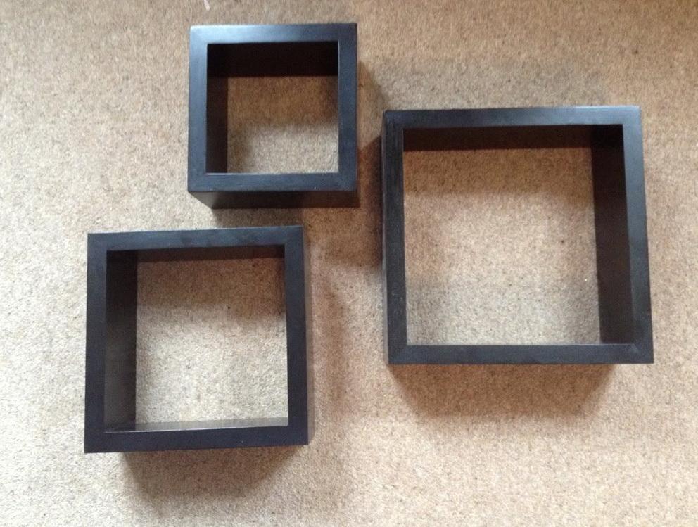 Wall Box Shelves