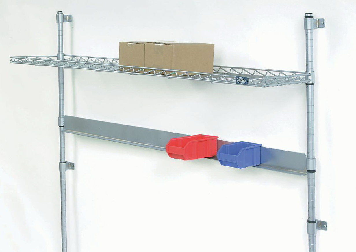 Wall Mount Wire Shelving Systems