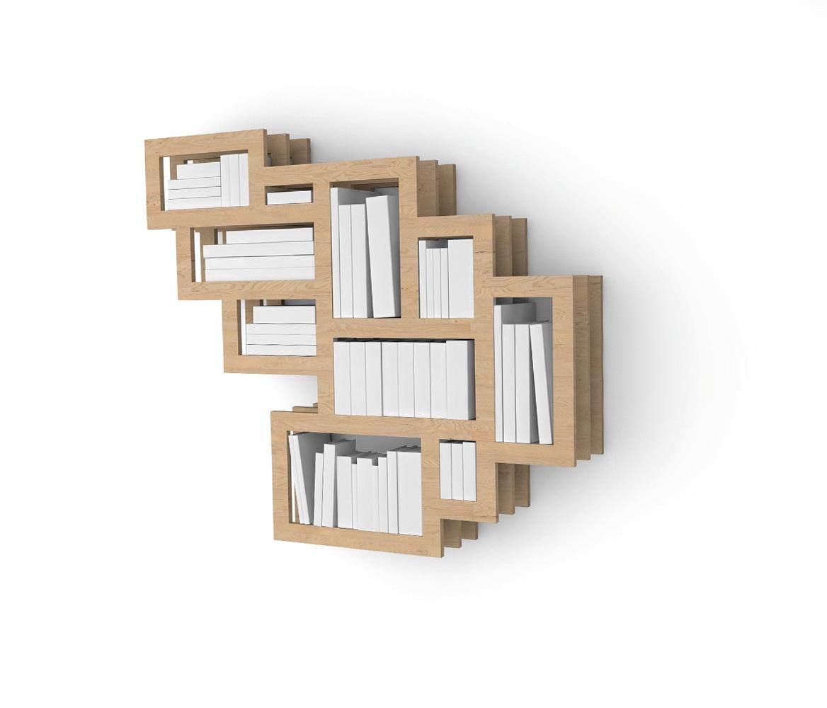 Wall Mounted Bookshelves Designs
