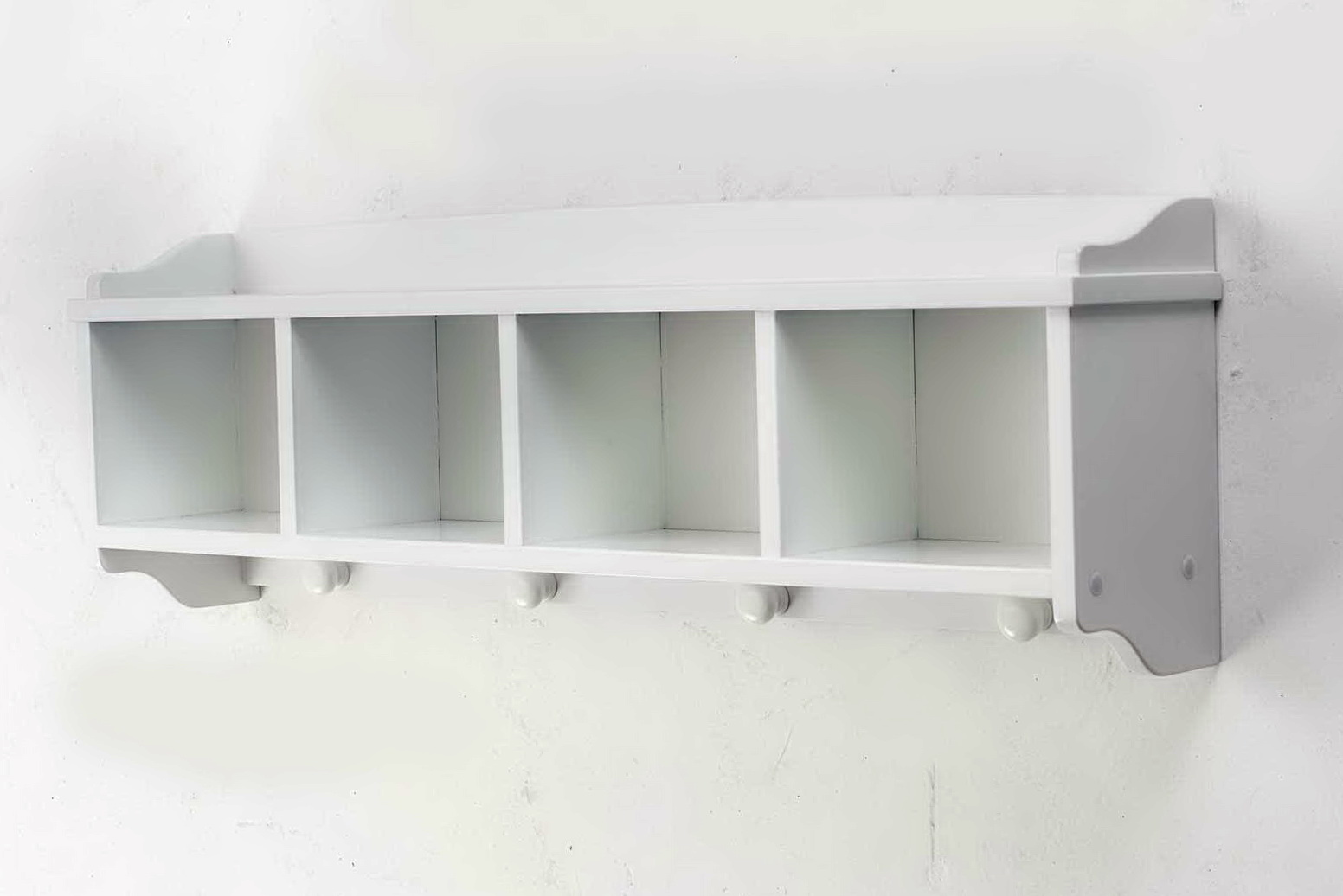 Wall Mounted Shelving And Storage Unit