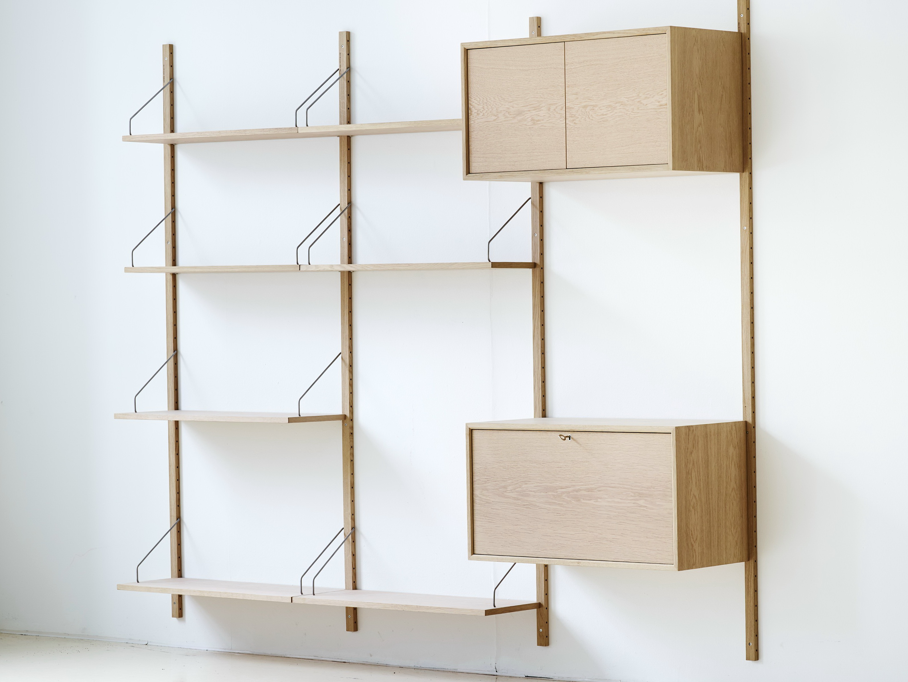 Wall Shelving Systems Wood