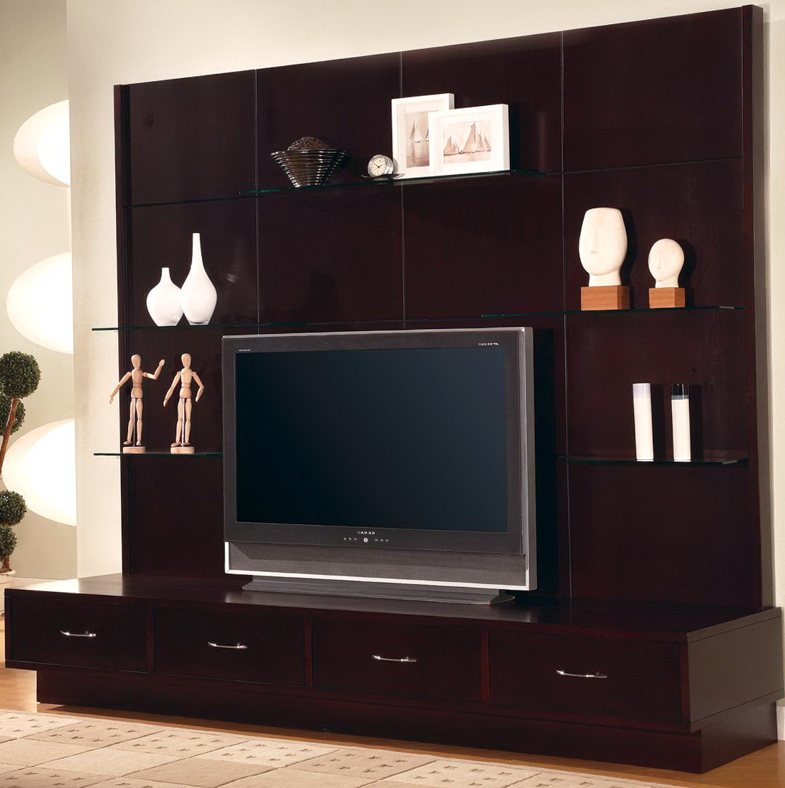 Wall Shelving Units For Tv
