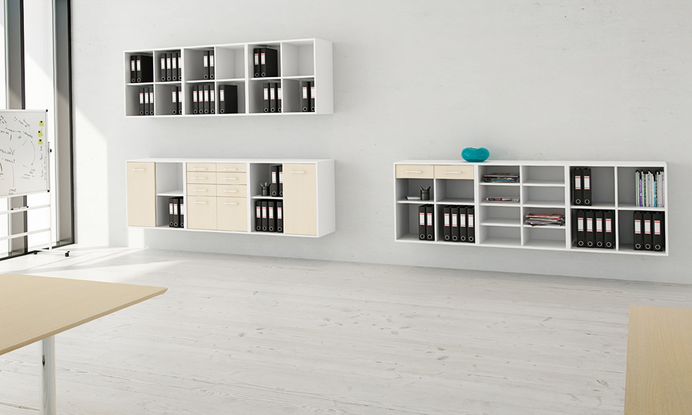 Wall Storage Shelves For Office