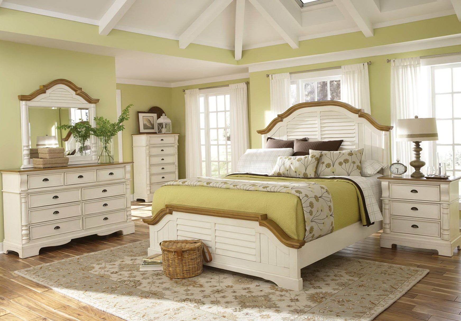 White Bedroom Dresser Sets
