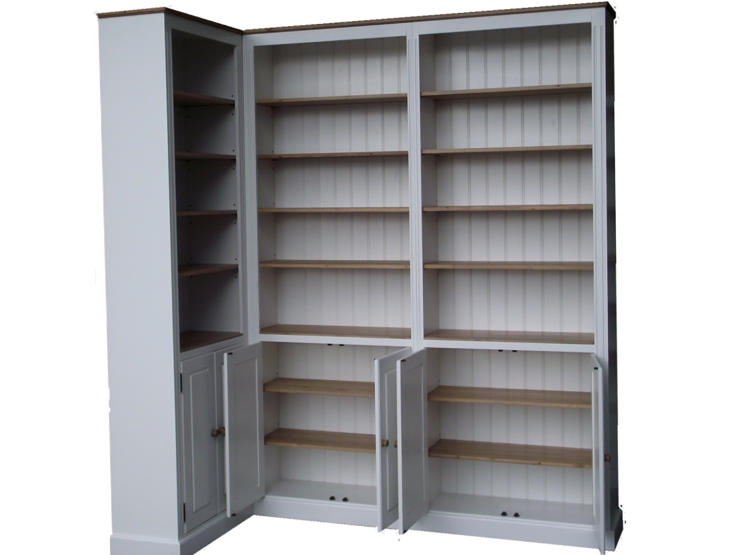 White Corner Bookcase Uk