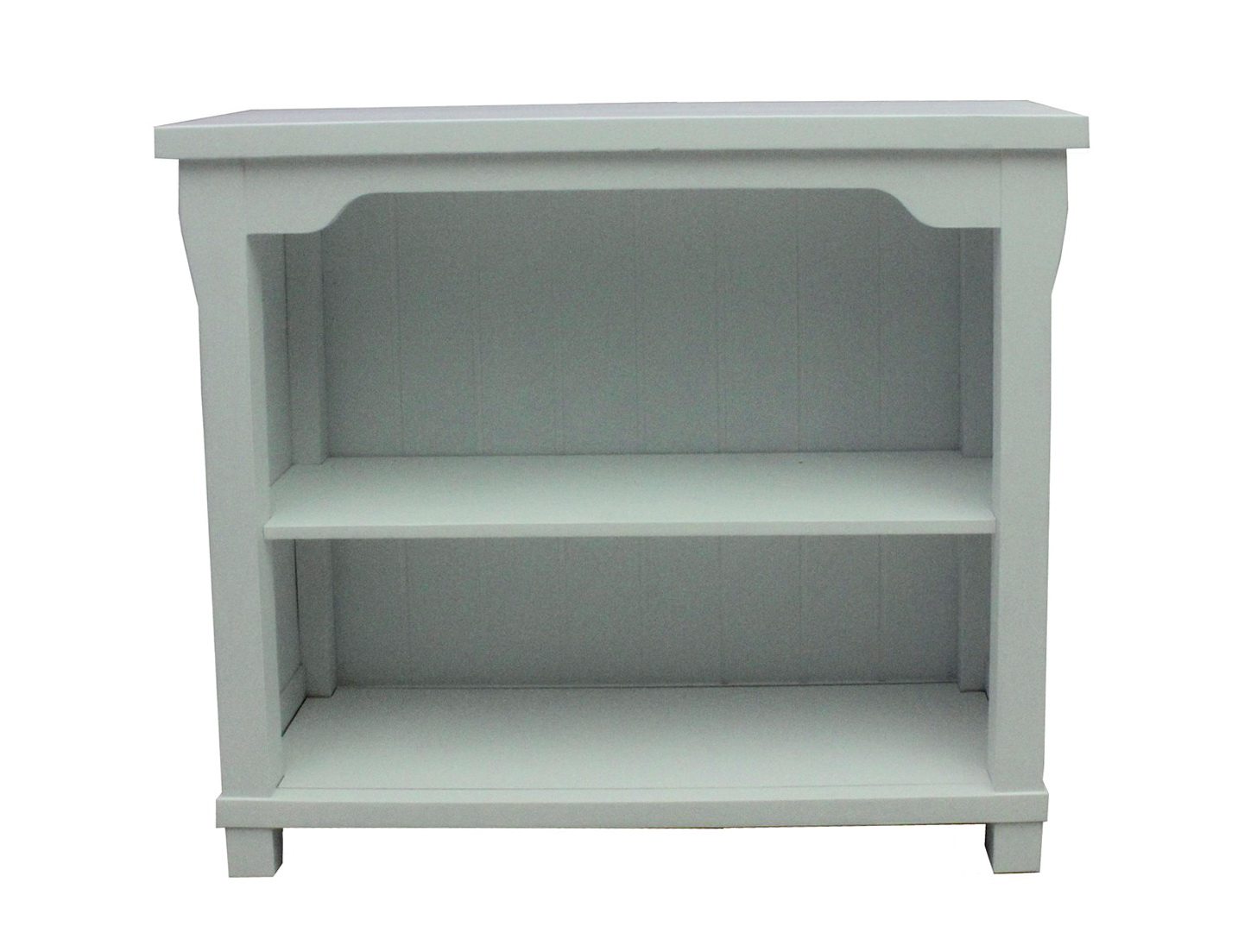 White Solid Wood Bookcase