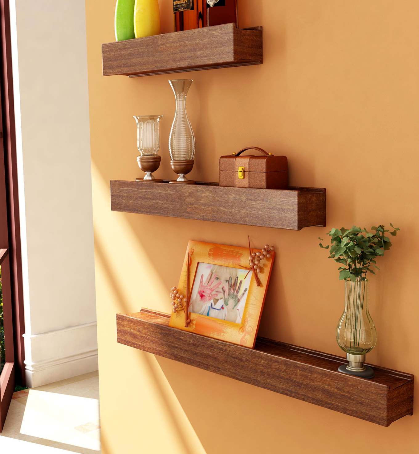 Wooden Shelves For Walls