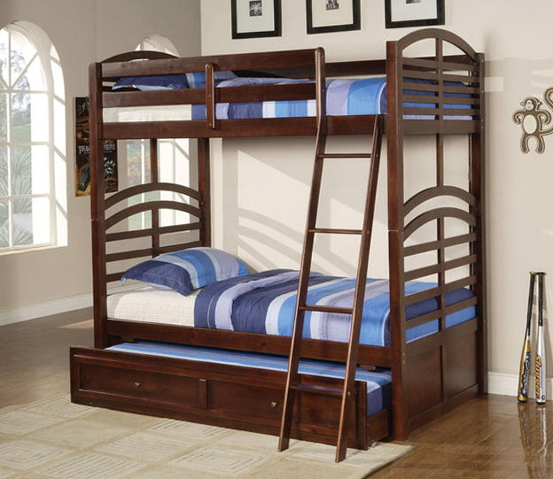 Full Over Full Bunk Beds With Trundle