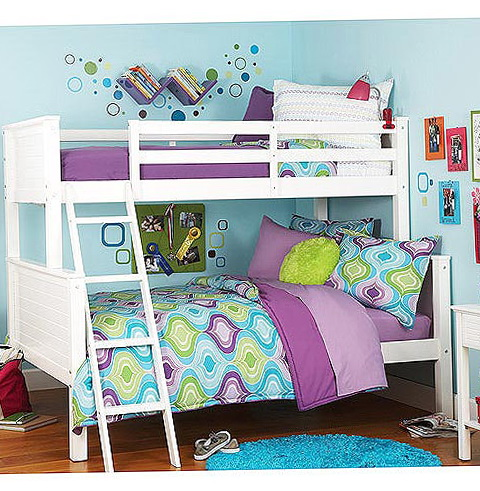 Full Size Loft Beds For Girls