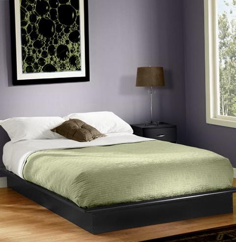 Full Size Platform Bed Frame With Storage