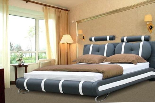 Full Size Platform Bed White
