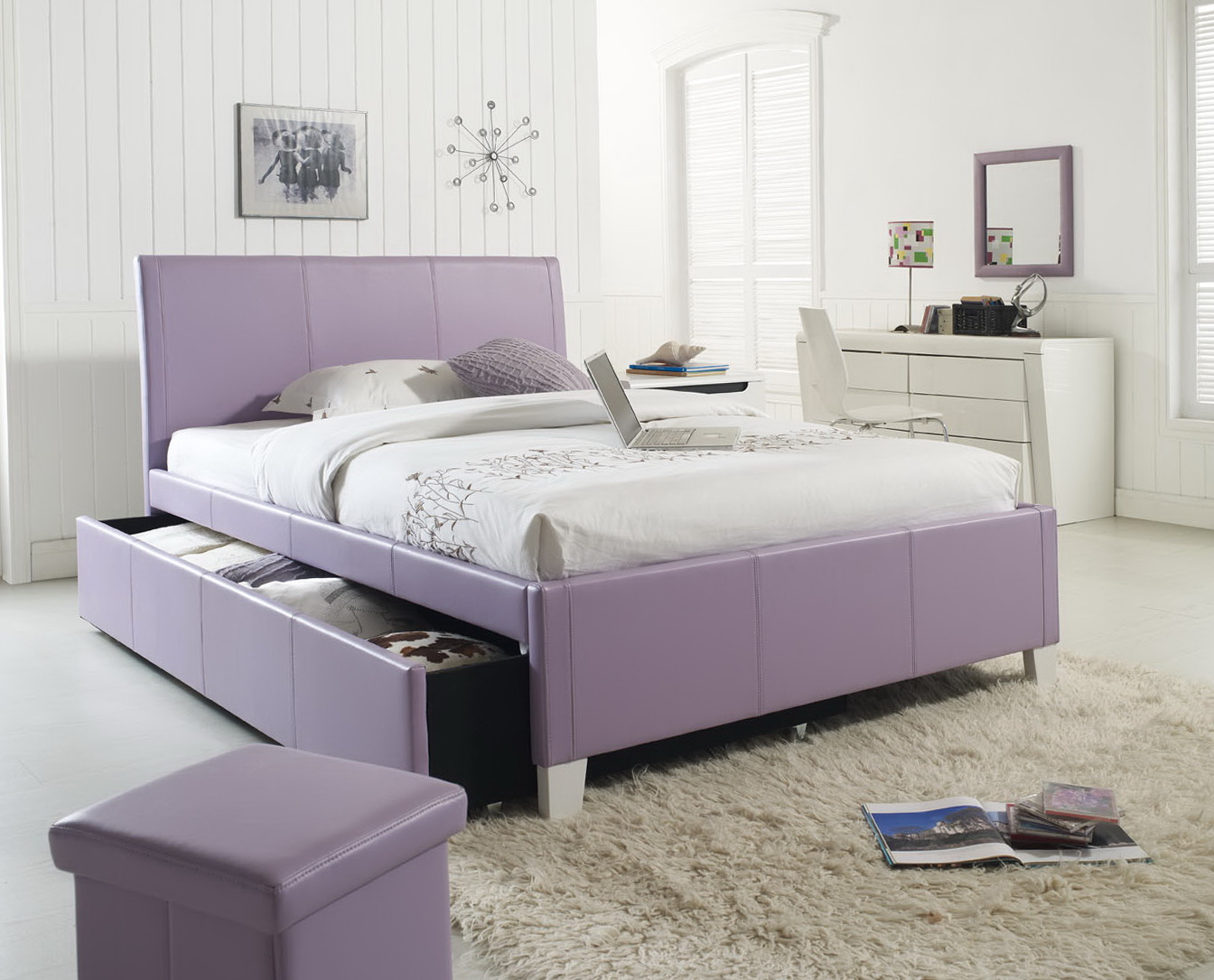 Full Size Trundle Bed With Twin Trundle Bed