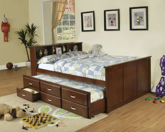 Full Size Trundle Beds For Kids