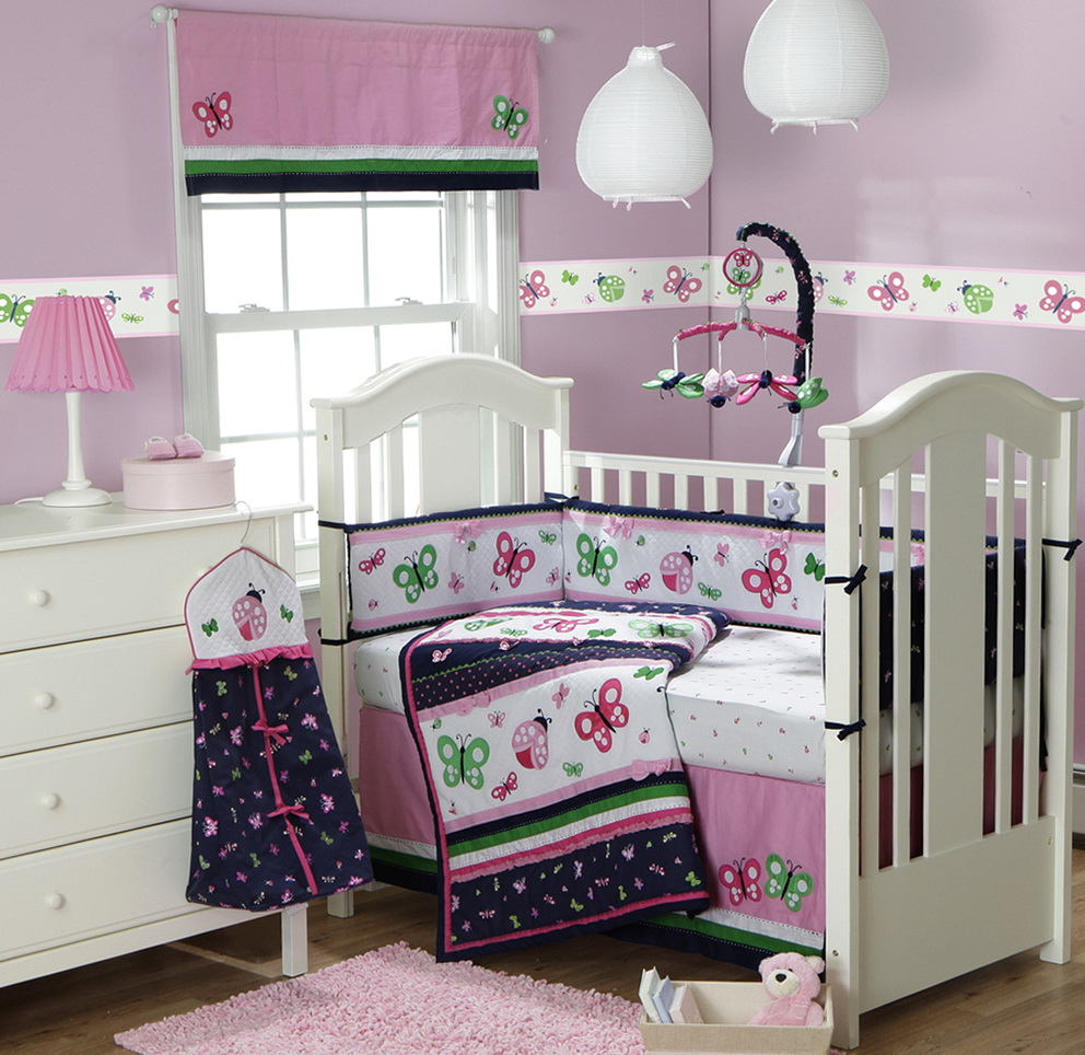 Girl Crib Bedding Sets Clearance