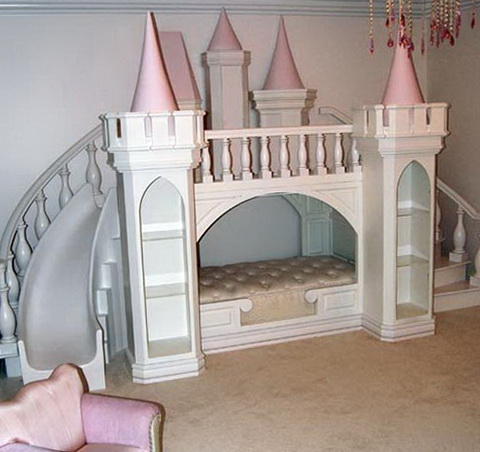 Girls Bunk Beds Castle