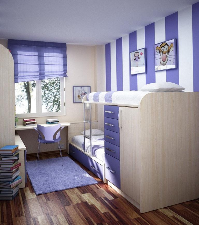 Girls Loft Bedrooms