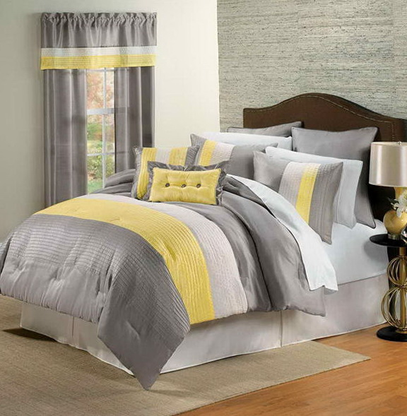 Gray And Yellow Bedding Kohl's
