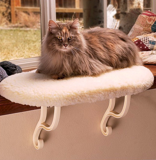 Heated Cat Bed Large