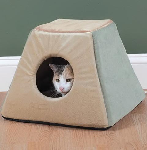 Heated Cat Bed Outdoor