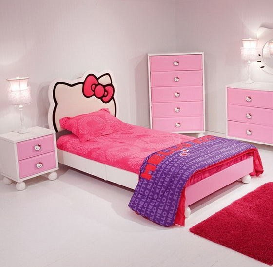 Hello Kitty Bed In A Box