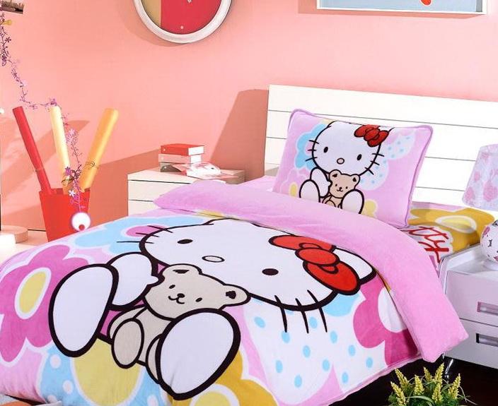Hello Kitty Bedding Full