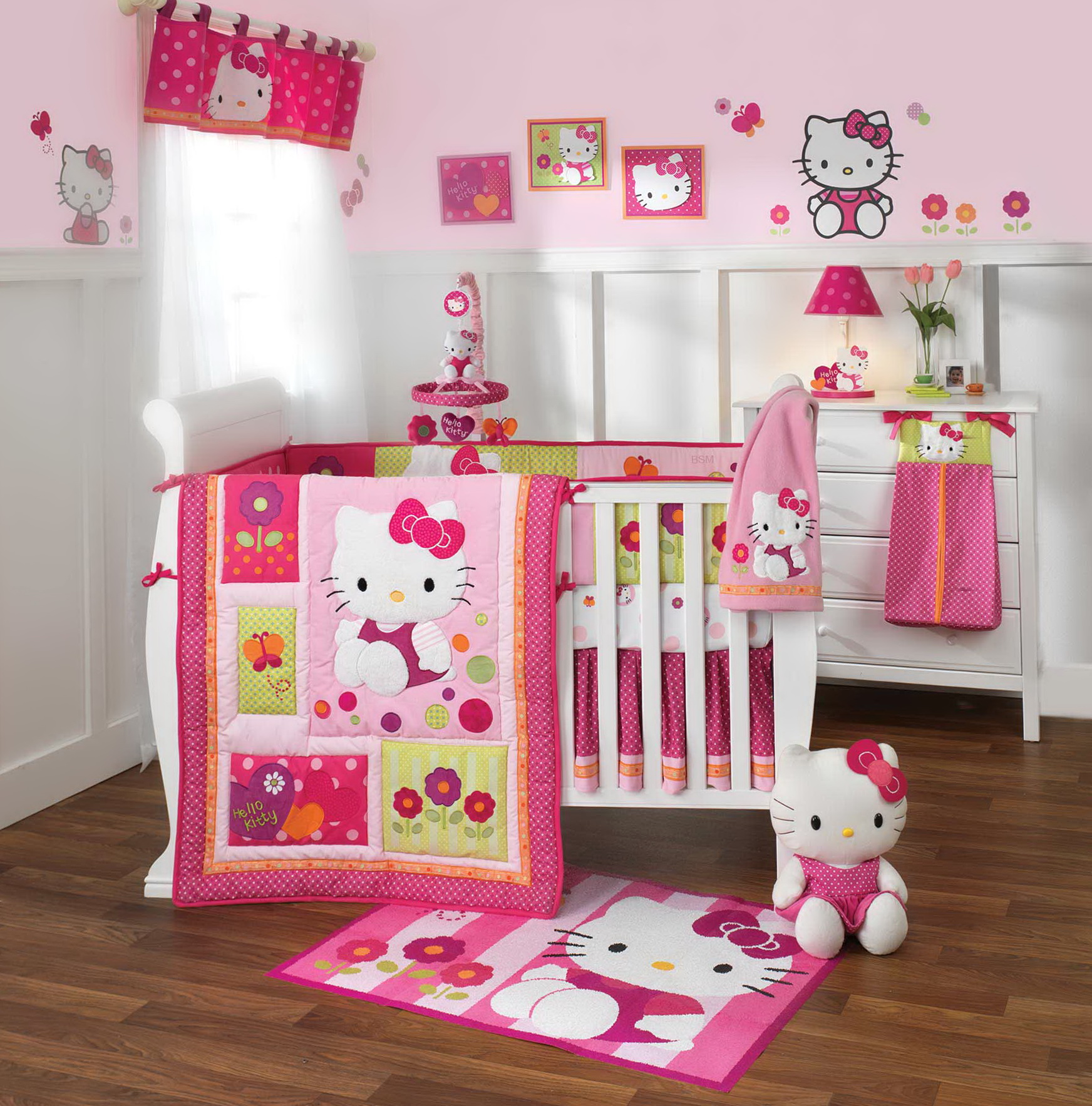 Hello Kitty Bedding Toddler Set