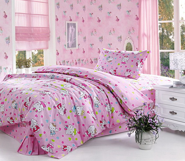 Hello Kitty Bedding Twin