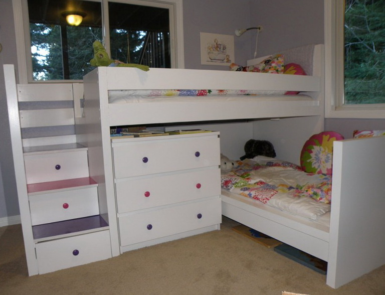 Ikea Loft Bed White