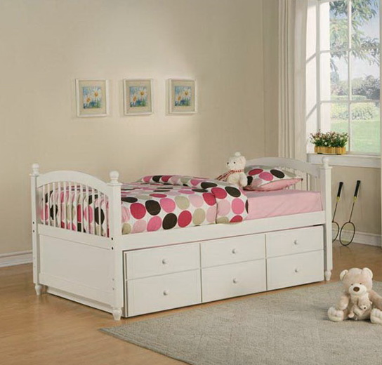 Kids Twin Beds With Drawers