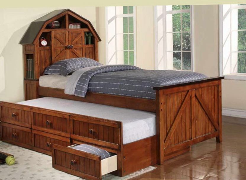 Kids Twin Beds With Trundle