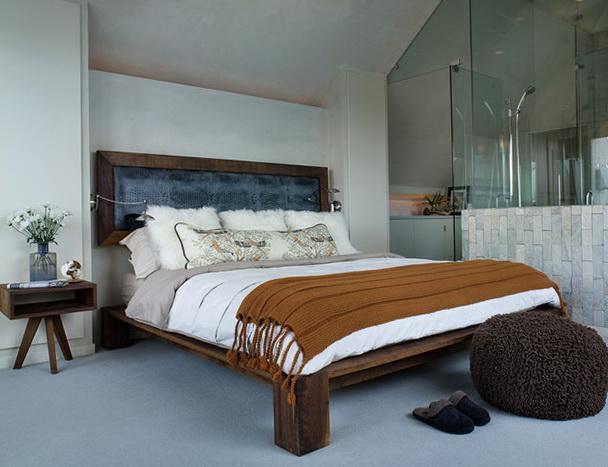 King Size Platform Bed Frame With Headboard